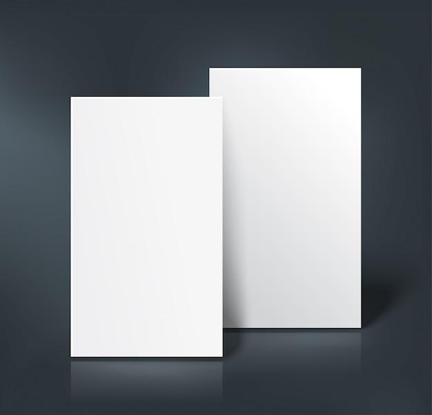Макет визитных карточек