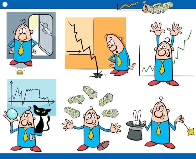 Набор бизнес-мультфильмов