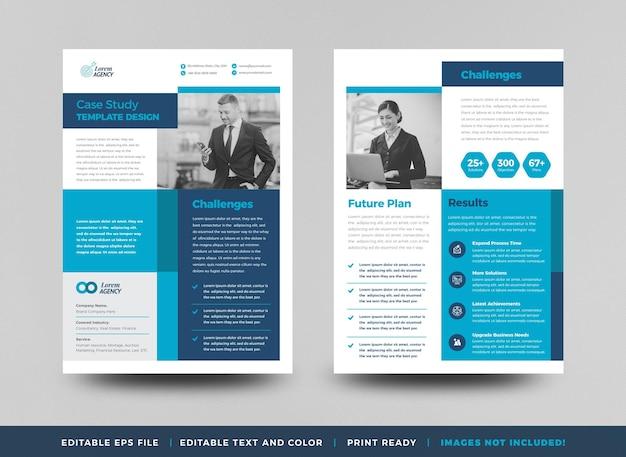 Дизайн бизнес-кейса или дизайн маркетинговых листов