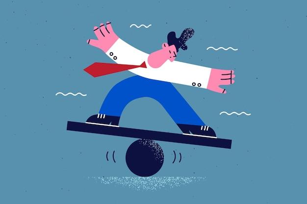비즈니스 과제 균형 안정성