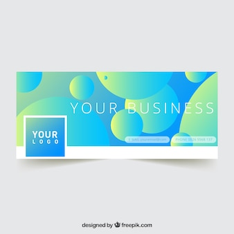 Business circles facebook cover