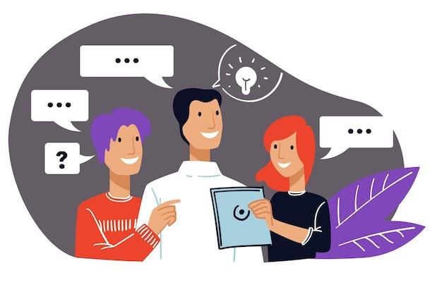 ビジネスコミュニケーションとオフィスチームの成功