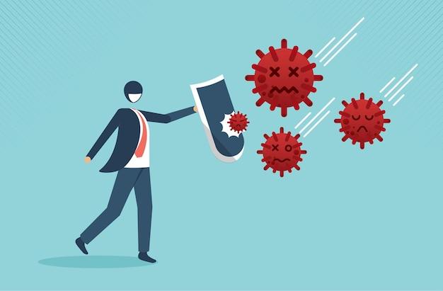 コロナウイルスの発生で戦い、繁栄する事業会社covid19経済とともに