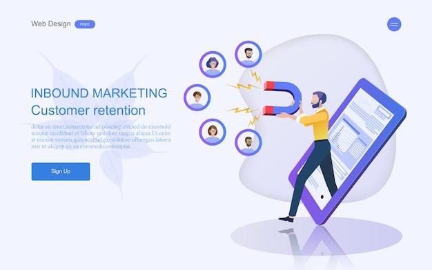 Business concept for digital marketing.