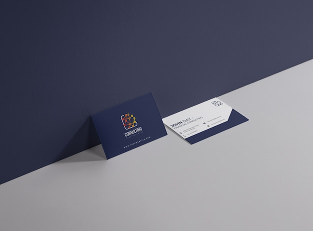 Business consulting card