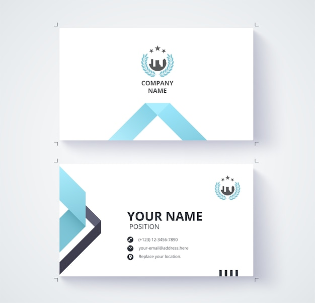 Business contact card