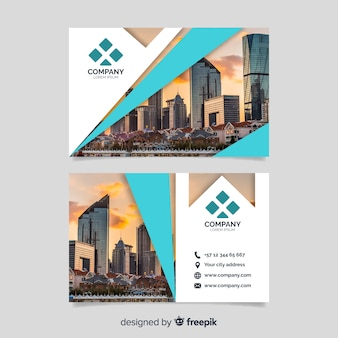 Business corporate card template