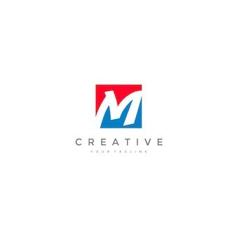 Business corporate m logo