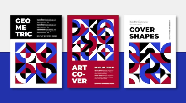 Business cover collection template