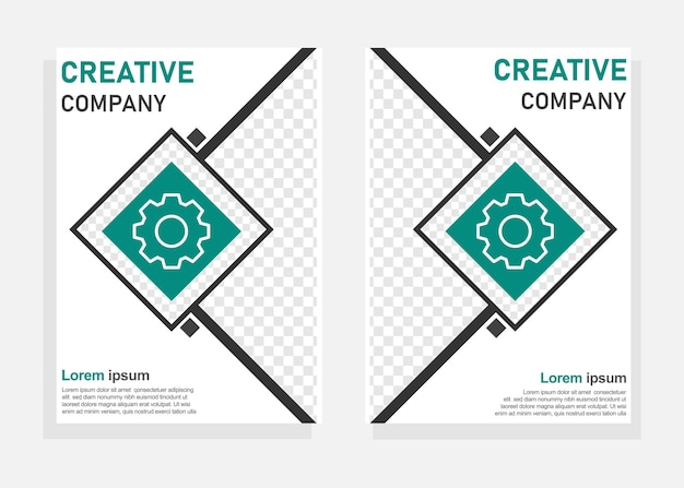 Business cover design template. flyer, brochure design template. perfect for business marketing, promotion, presentation. editable vector