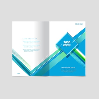 Шаблон оформления бизнес-обложки