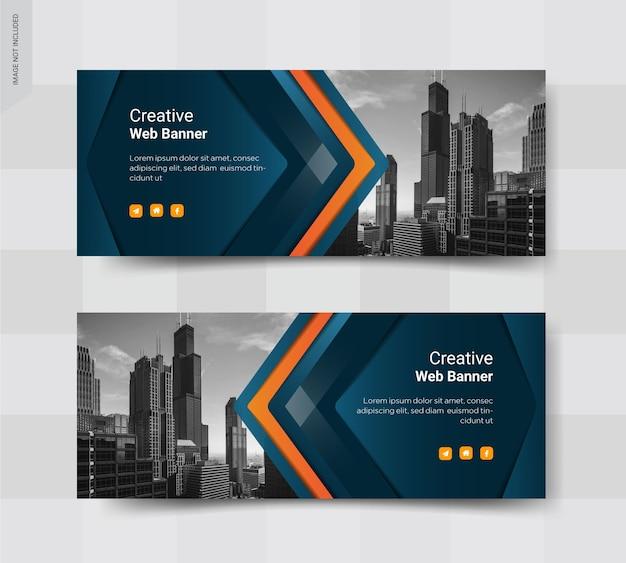 Business cover social media post banner