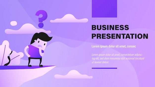 Business crisis banner