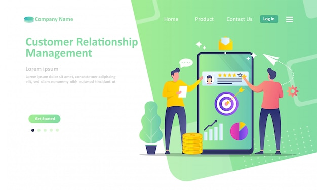 Business customer relationship management