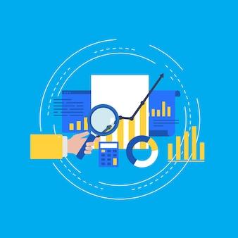 Business data analysis and seo analytics
