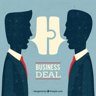 Business deal background