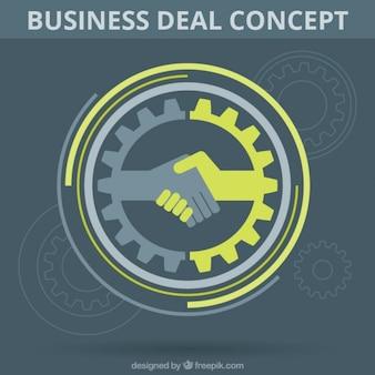 Business deal symbol