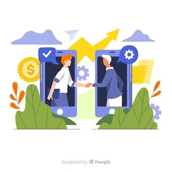 사업 협상