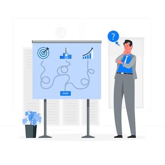 Иллюстрация концепции бизнес-решений