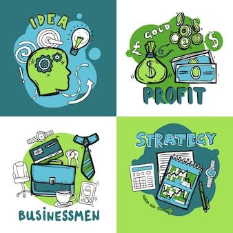 비즈니스 디자인 컨셉