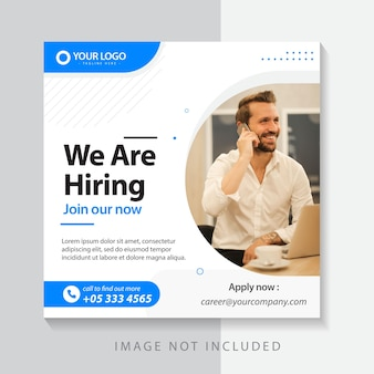 ビジネスデザインテンプレートウェブバナーのデザイン