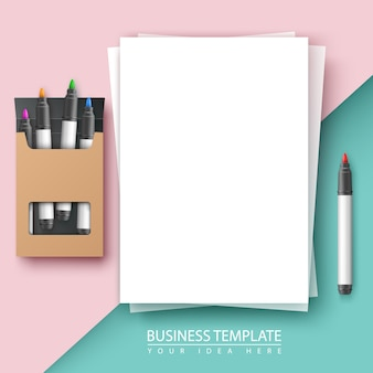 Business document background.