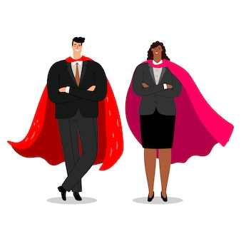 Business dreamteam illustration