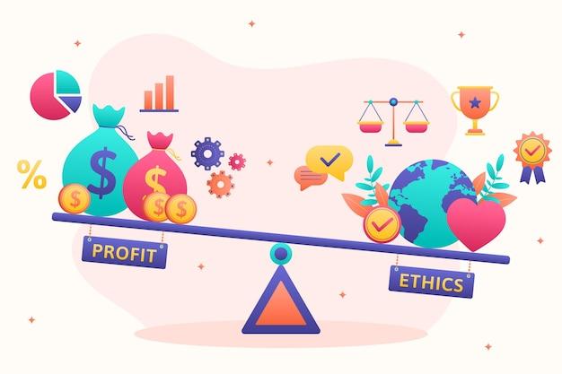 선과 악 사이의 비즈니스 윤리