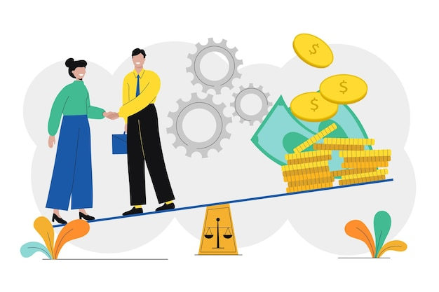 Иллюстрация деловой этики
