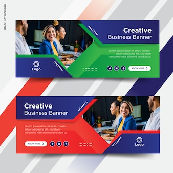 Business facebook cover set