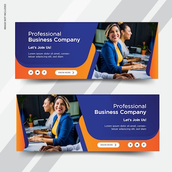 Business facebook cover social media post