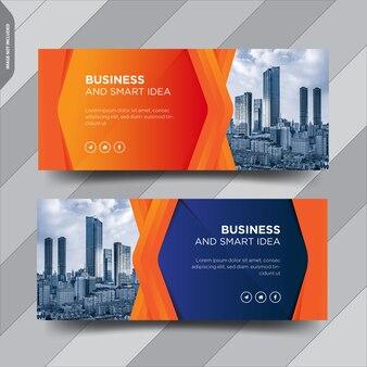 Business facebook cover social media post