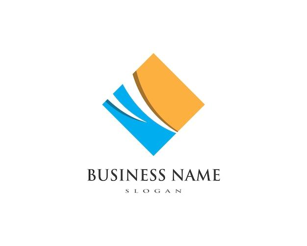 Шаблон профессионального логотипа business finance