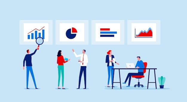 Встреча бизнес-команды по финансам и инвестициям