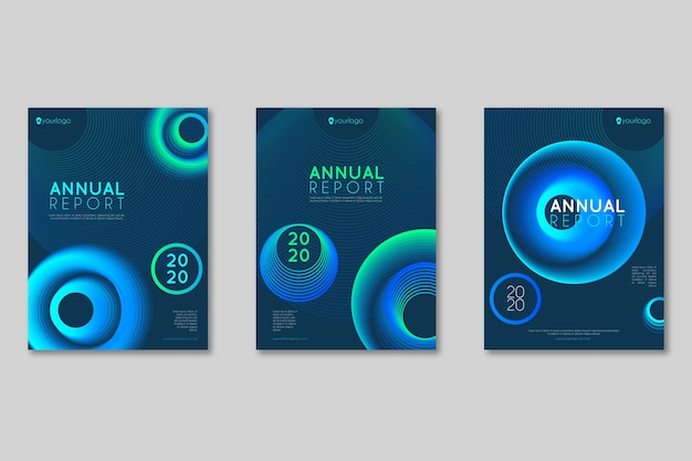 Business flyer style collection