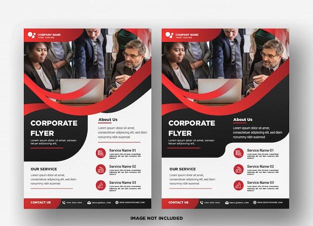 Business flyer template.