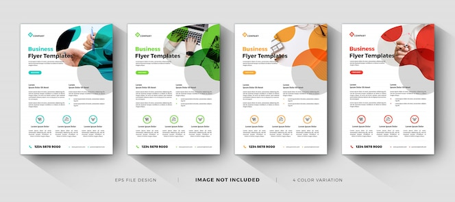 business flyer templates with minimal design