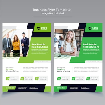 Business flyer tempplate