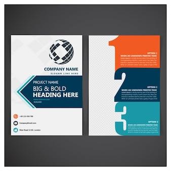 Business folder template