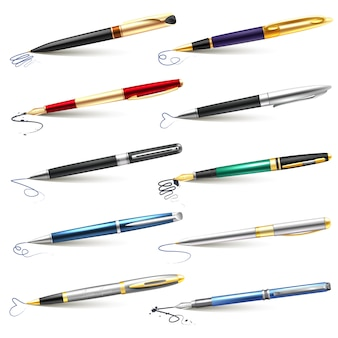 Business fountain pen  set