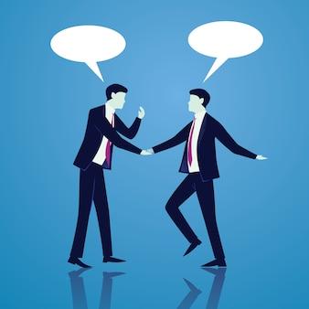 Концепция глобальной глобальной коммуникации. деловые люди