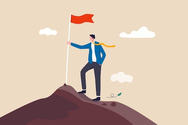 ビジネス目標の達成、成功のキャリア開発またはモチベーション