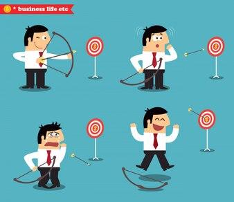 Business goal statuses