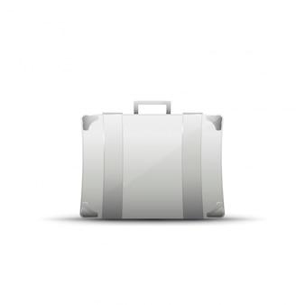 Business grey briefcase
