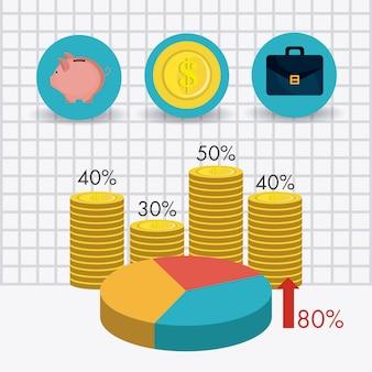 Статистика роста бизнеса и экономии денег
