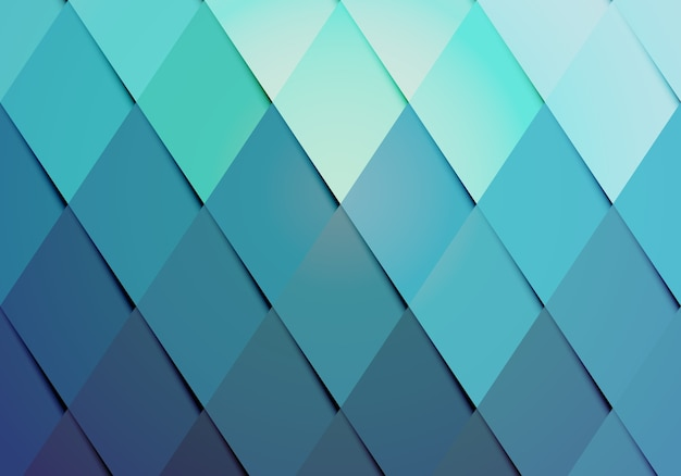 Business hipster color background pattern with a geometric arrangement of graduated diamonds