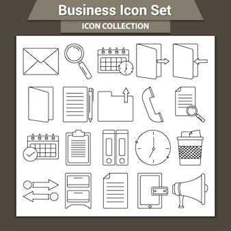 Набор бизнес-иконок