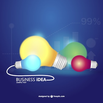 Idea di business concetto vettoriale infografica