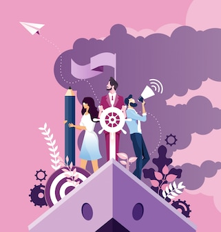 Business improvement and development concept