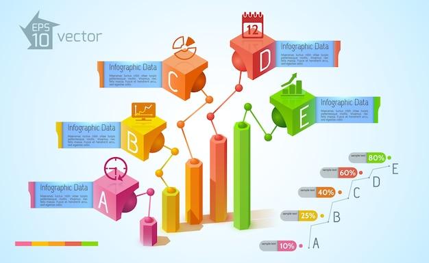 ビジネスインフォグラフィックの概念